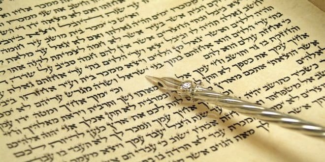 In pictures: Writing a Torah scroll