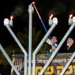 Dutch Christian Zionists Buy $30,000 Candelabrum as Gift to Jewish Community