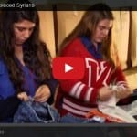 Israeli Youth Help Displaced Syrians