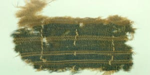 2,000 Year Old Fabric Dyed Using Murex Snail