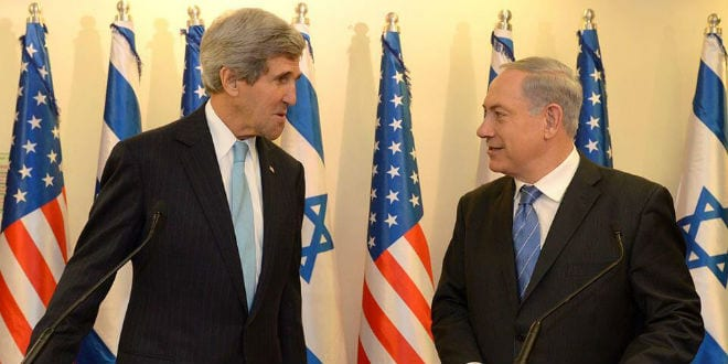 Kerry and Netanyahu Discuss Peace