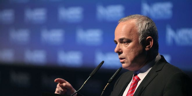 Minister of Intelligence Yuval Steinitz speaks during the 7th Annual International INSS Conference in Tel Aviv, on January 29, 2014. (Photo: Markowicz/Flash90)