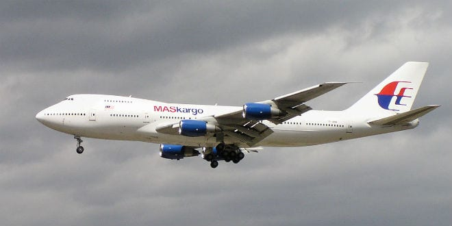 Malaysia Airlines B747. (Photo: Wiki Commons)