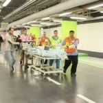 Rambam Hospital Conducts Emergency Drill in New Underground Medical Unit