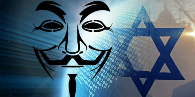 Hacker Group Anonymous Threatens Israel With Electronic
