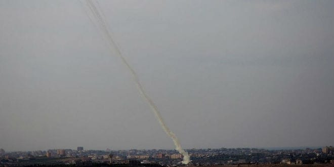 Gaza rocket fire