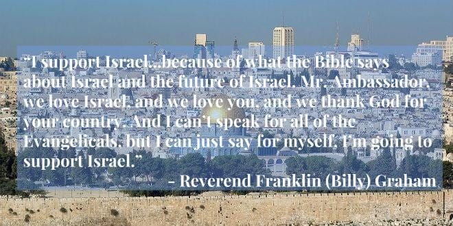American Evangelical Christians Stand Strong With Israel