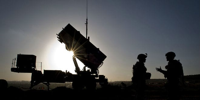 Israel Fires Patriot Missile At Drone Approaching Golan From Syria - Breaking Israel News | Latest News. Biblical Perspective.