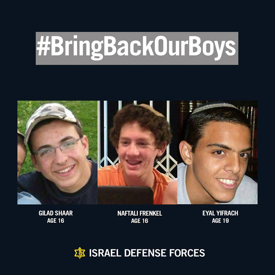bring back our boys campaign idf