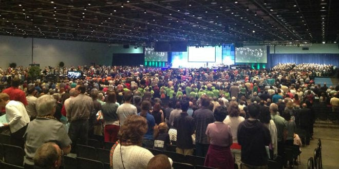 In a narrow vote, Presbyterian Church USA voted at its annual assembly to support the BDS movement against Israel on June, 2014. (Photo: Presbyterian Church USA/ Facebook)