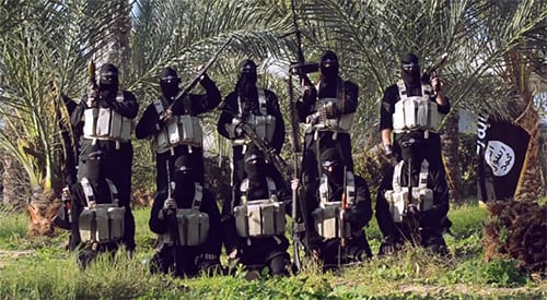 ISIS members in Gaza. (Photo: YouTube Screenshot)