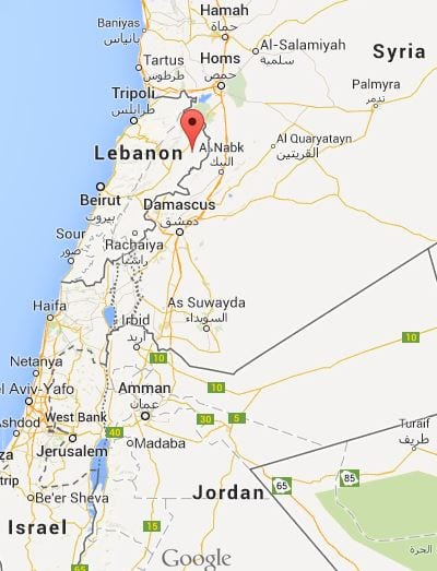 Arsal, located in northern Lebanon, has been under fire by ISIS militants from Syria.
