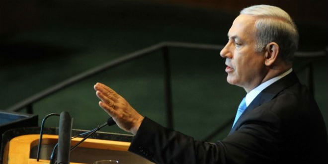 PM Benjamin Netanyahu Addresses the 66th session of the UN General Assembly. (Photo: Avi Ohayon/ GPO)