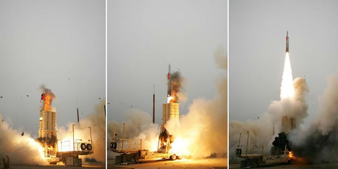 Arrow II Missile Defense System Upgraded after Failed Testing