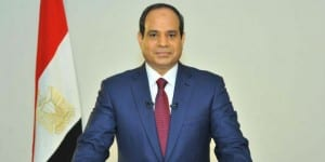 Egyptian President Abdel Fattah al-Sisi. (Photo: Facebook)