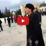 MK Harassed by Islamists on Temple Mount