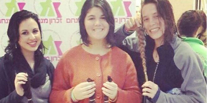 Israelis Donate Masses of Hair to Cancer Patients