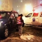 United Hatzalah Braving Winter Storm for Safety of Those in Israel