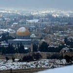 Israel Braces for Major Winter Storm as First Snow Falls on Mt. Hermon