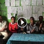 Jews in Addis Ababa, Ethiopia Sing the Jewish Song of Happiness