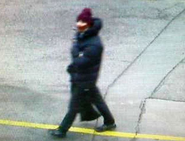 Security footage of the suspect behind the Copenhagen terror attacks. (Photo: Denmark Police)
