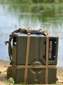 The Spring backpack, portable model. (Photo: WaterGen)