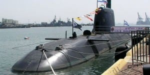 Israel's INS Dolphin submarine. (Photo: Wiki Commons)