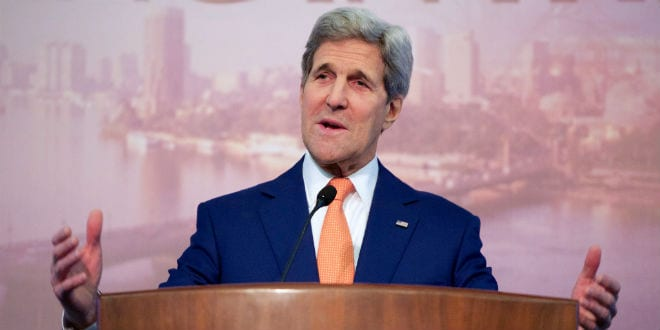 US Secretary of State John Kerry (Photo: US Department of State)