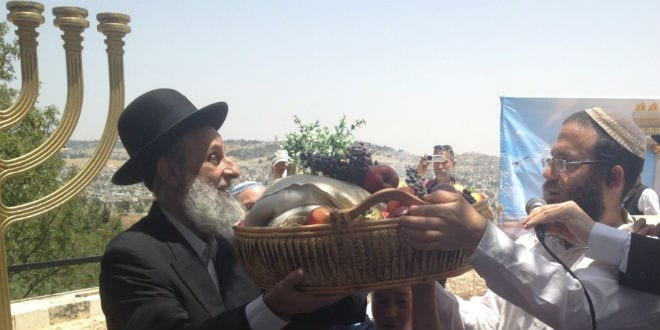 In Jerusalem, Jewish Priests Rehearse Shavuot Temple Service [PHOTOS]