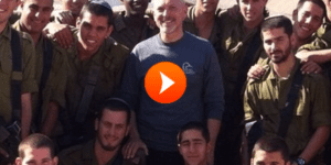 Rep. Alan Clemmons with IDF soldiers