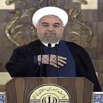 """Iran's Rouhani: """"Warmongering Zionist Regime"""" Failed to Stop Nuclear Deal"""