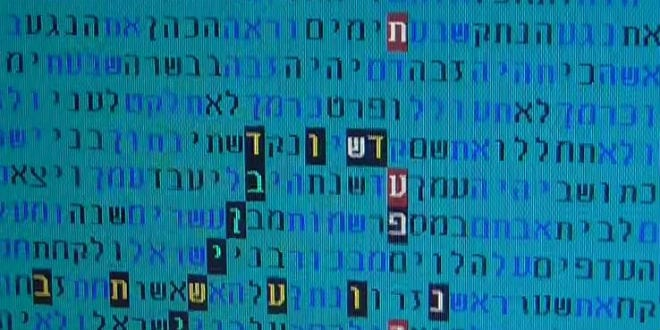 The Bible Code that hints at the arrival of the Messiah following the