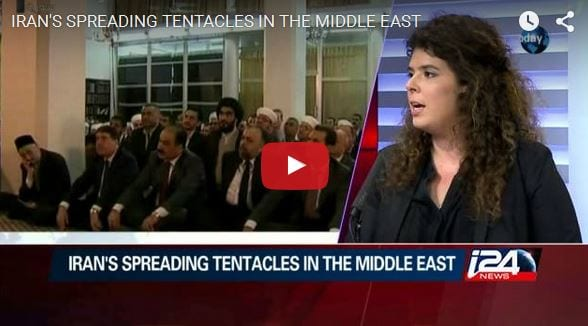 iran s spreading tentacles in the middle east israel news