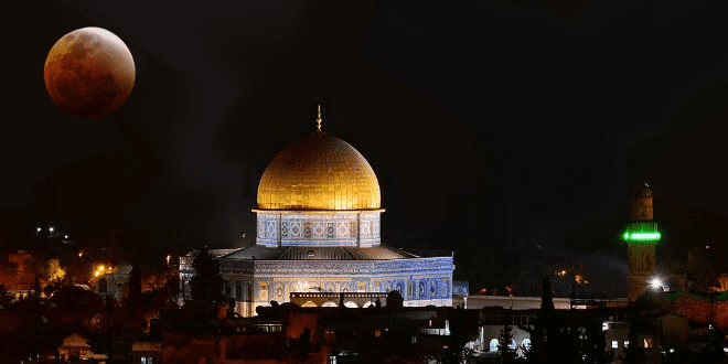 Blood Moon Pattern Hints That Restoration Of Temple Mount