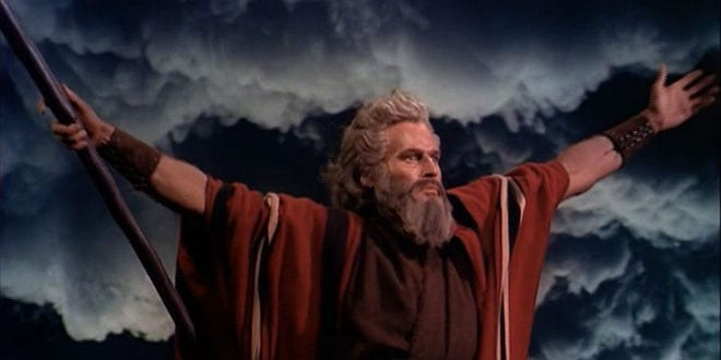 "Screenshot from 1956 movie ""Ten Commandments"" (Photo: Wikimedia Commons)"