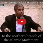Watch: Powerful Speech on the True History of the Temple Mount in Front of the Knesset