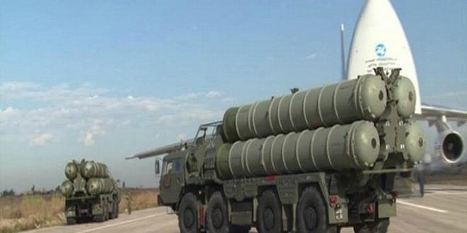The S-400. (Photo: Russian Defense Ministry's Press and Information Department)