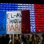 "Israel Stands ""Shoulder to Shoulder"" with France Against Terror"