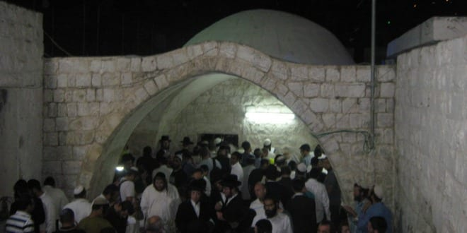 Joseph's Tomb is the biblical burial place of the Patriarch Joseph. It is located on the outskirts of the city of Shechem and regularly attracts Jewish worshipers. (Photo: Wikimedia Commons.)