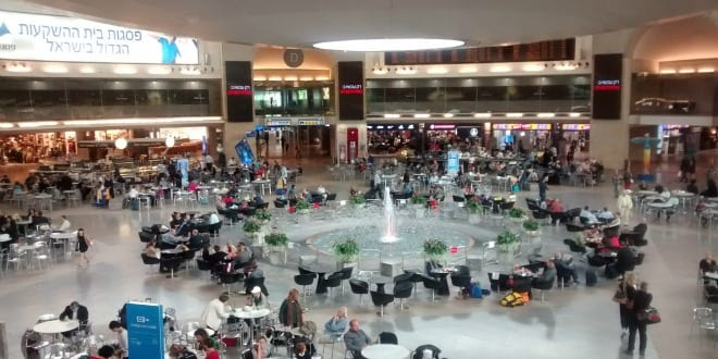 israel s ben gurion airport ranked fourth best airport in