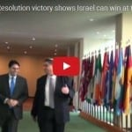 Ambassador: Resolution Victory Shows Israel Can Win at the UN