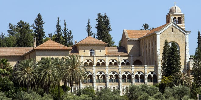 The Trappist Monastery in Latrun in Ayalon Valley. (Photo: Andrew McIntire/TPS)