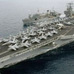 "In ""Highly Provocative"" Act, Iran Fires Rockets Near US Navy Warships"