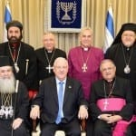 President Rivlin and Israel's Christian Leaders Usher in the New Year with Strengthened Interfaith Ties