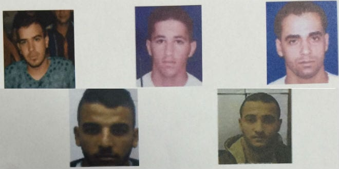 The members of the Hezbollah cell arrested by the Shin Bet. (Photo: Courtesy)