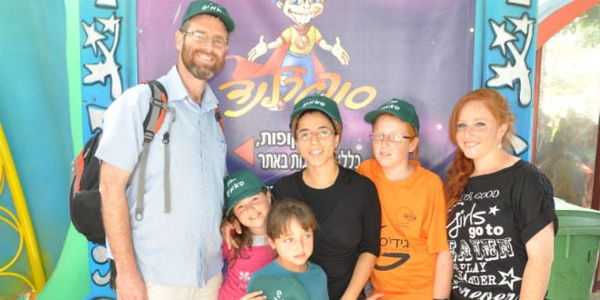 Dafna Meir with her husband, Natan, and their children. (Photo: Summit Institute)