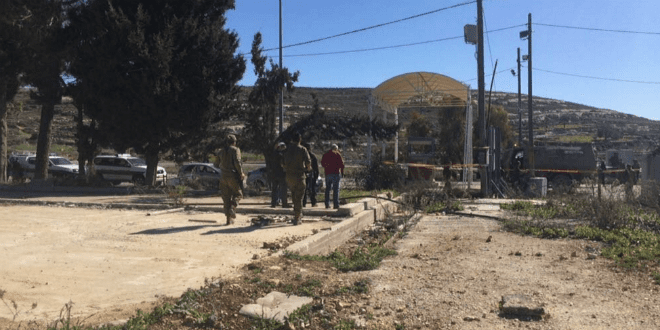 Three Israelis were wounded in a shooting terror attack near Beit El on January 31, 2016. (Photo: @IsraelNewsFirst Twitter Feed)