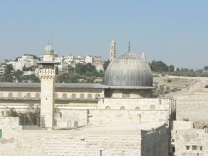 The al Aqsa mosque on the Temple Mount. (Photo: MathKnight/Wikicommons)