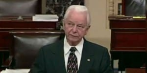 The late Senator Robert Byrd (Photo: Fox News Video Screenshot)