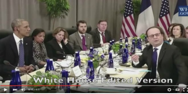 YouTube Screenshot from White House Video